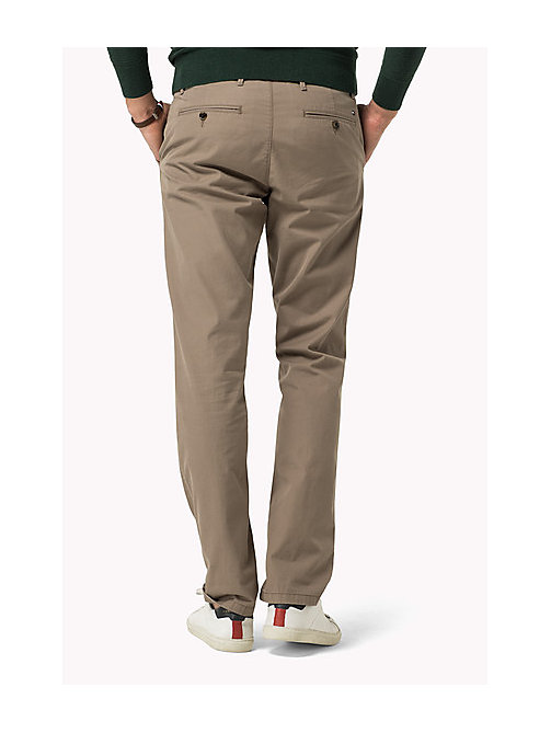 TOMMY HILFIGER Regular Fit Chinos - WALNUT - TOMMY HILFIGER Clothing - detail image 1