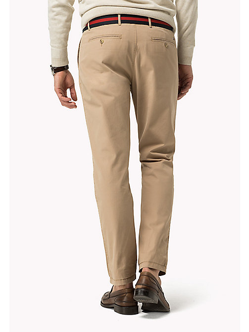 TOMMY HILFIGER Regular Fit Chinos - BATIQUE KHAKI - TOMMY HILFIGER Clothing - detail image 1