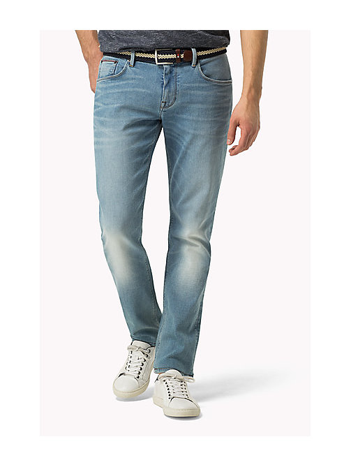 TOMMY HILFIGER Straight Fit Jeans - ATHENS BLUE - TOMMY HILFIGER Jeans - main image
