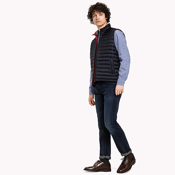 TOMMY HILFIGER Packable Down Gilet - FLAME - TOMMY HILFIGER Clothing - detail image 2