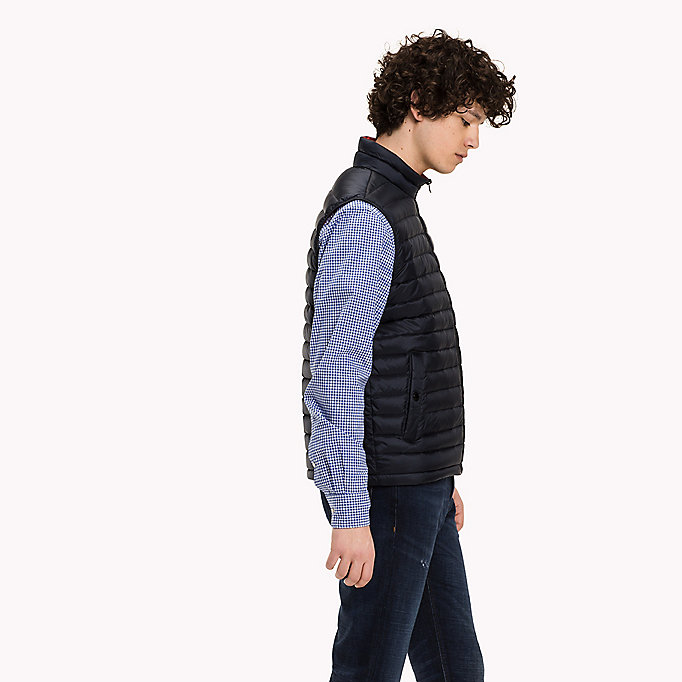 TOMMY HILFIGER Packable Down Gilet - FLAME - TOMMY HILFIGER Clothing - detail image 4
