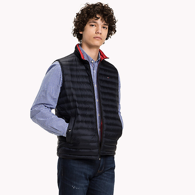 TOMMY HILFIGER Packable Down Gilet - FLAME - TOMMY HILFIGER Clothing - main image