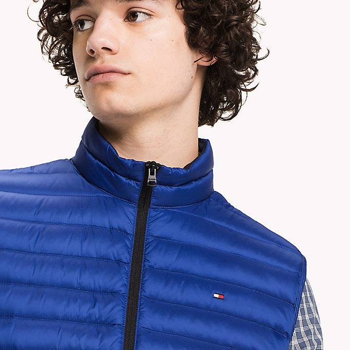 TOMMY HILFIGER Packable Down Gilet - SILVER - TOMMY HILFIGER Clothing - detail image 3