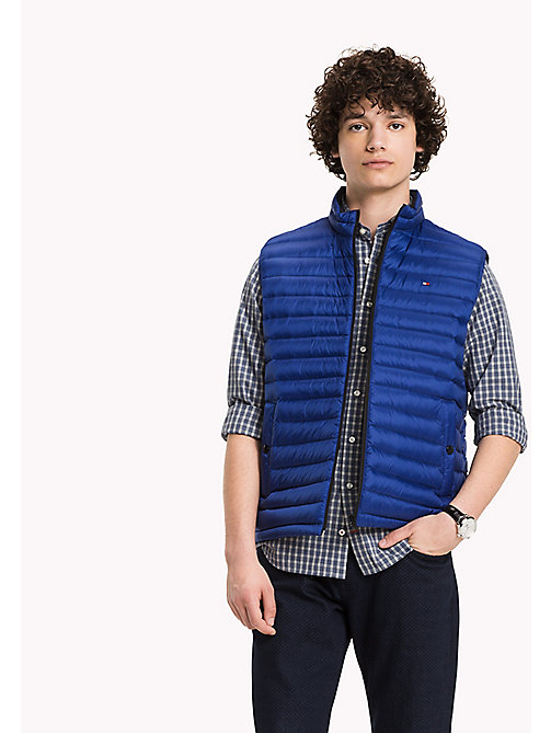 TOMMY HILFIGER Packable Down Gilet - SURF THE WEB - TOMMY HILFIGER Coats & Jackets - main image