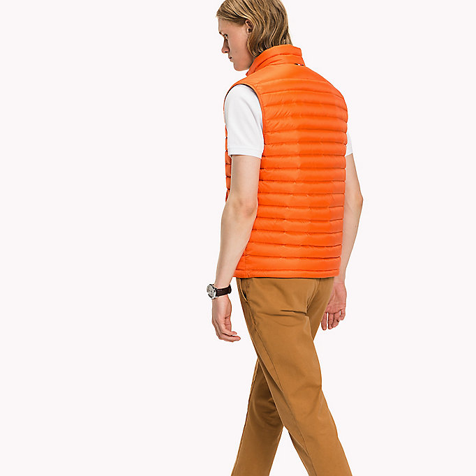 TOMMY HILFIGER Packable Down Gilet - SURF THE WEB - TOMMY HILFIGER Clothing - detail image 1