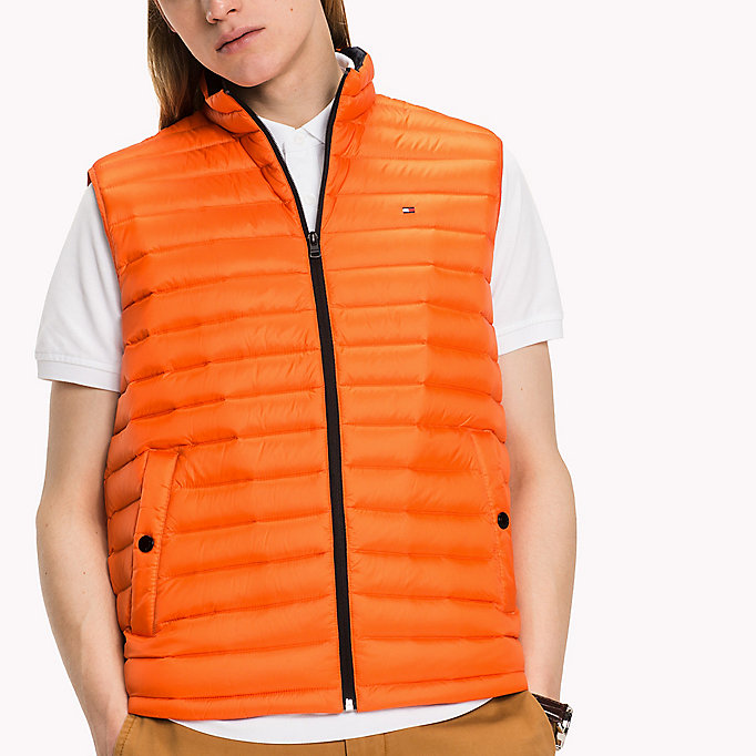 TOMMY HILFIGER Packable Down Gilet - SURF THE WEB - TOMMY HILFIGER Clothing - detail image 3