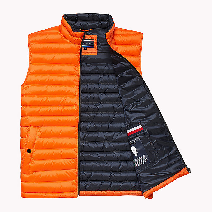 TOMMY HILFIGER Packable Down Gilet - SURF THE WEB - TOMMY HILFIGER Clothing - detail image 4