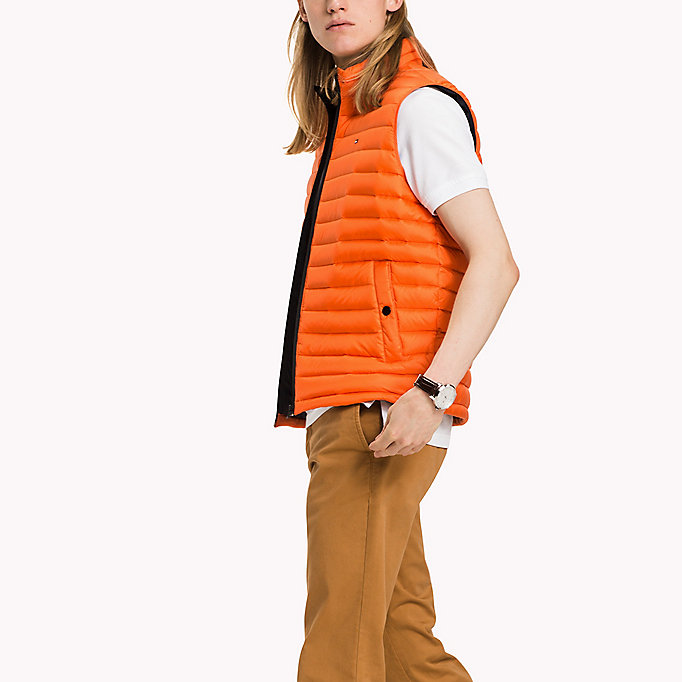 TOMMY HILFIGER Packable Down Gilet - SURF THE WEB - TOMMY HILFIGER Clothing - main image