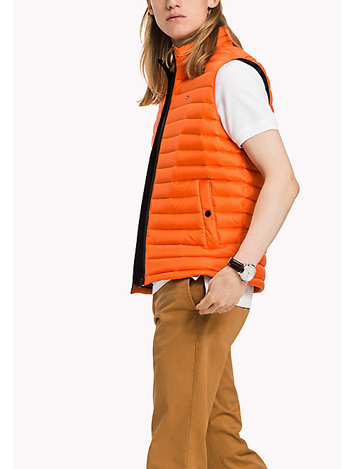 TOMMY HILFIGER Packable Down Gilet - FLAME - TOMMY HILFIGER Coats & Jackets - main image
