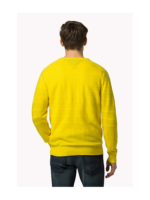 TOMMY HILFIGER Regular Fit Pullover - BLAZING YELLOW - TOMMY HILFIGER Kleidung - main image 1