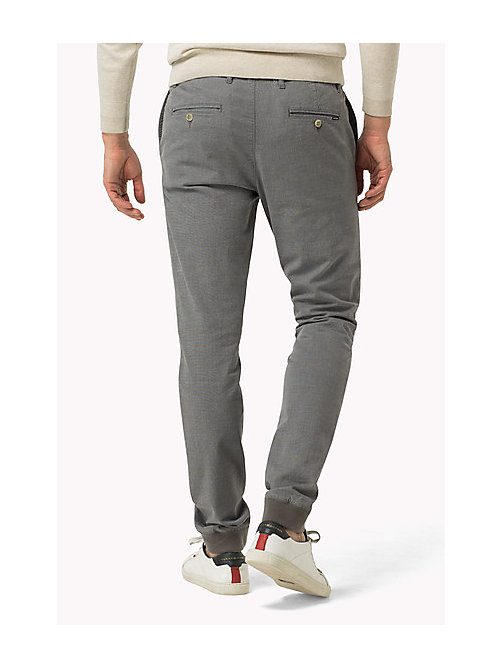 TOMMY HILFIGER Regular Fit Active Trousers - SILVER FILIGREE - TOMMY HILFIGER Clothing - detail image 1