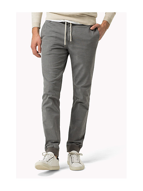 TOMMY HILFIGER Regular Fit Active Trousers - SILVER FILIGREE - TOMMY HILFIGER Clothing - main image