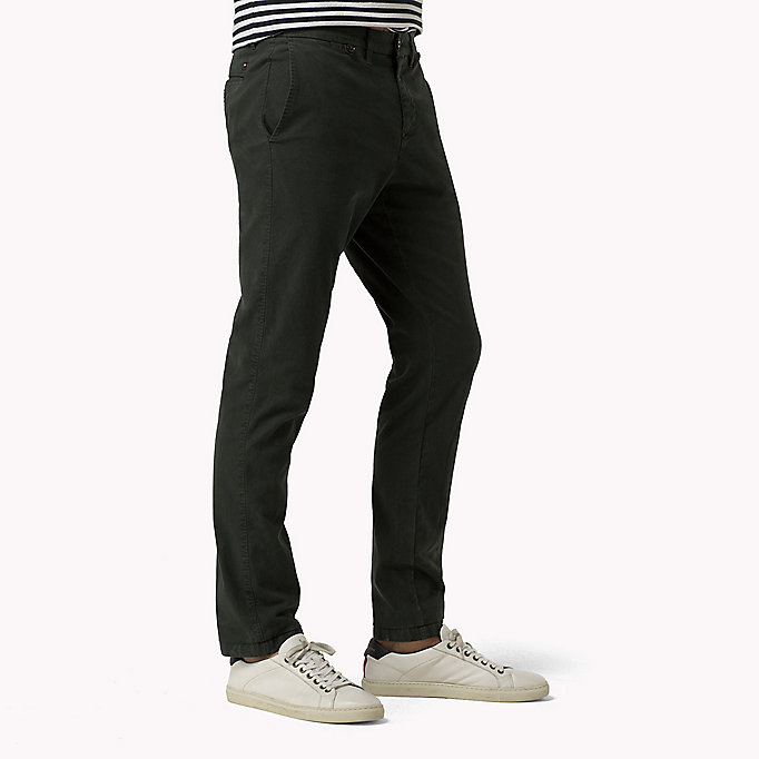 TOMMY HILFIGER Straight Fit Chino - QUIET GRAY - TOMMY HILFIGER Kleidung - main image 2