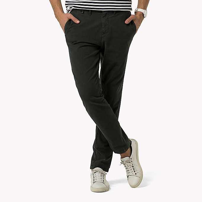 TOMMY HILFIGER Straight Fit Chino - QUIET GRAY - TOMMY HILFIGER Kleidung - main image