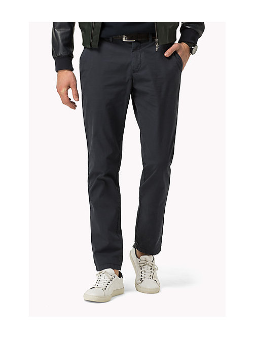TOMMY HILFIGER Straight Fit Chino - SKY CAPTAIN - TOMMY HILFIGER Hosen - main image