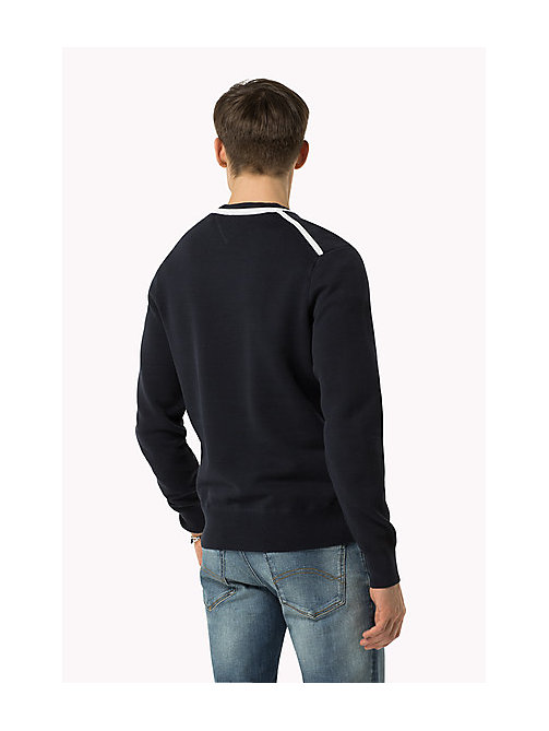 TOMMY HILFIGER Regular Fit Jumper - SKY CAPTAIN - TOMMY HILFIGER Clothing - detail image 1