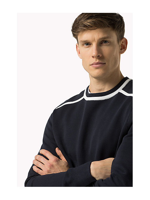 TOMMY HILFIGER Regular Fit Jumper - SKY CAPTAIN - TOMMY HILFIGER Clothing - main image