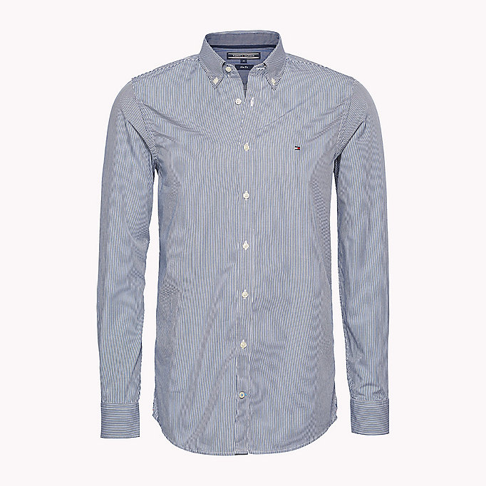 TOMMY HILFIGER Slim Fit Hemd - SHIRT BLUE / BRIGHT WHITE - TOMMY HILFIGER Kleidung - main image 1