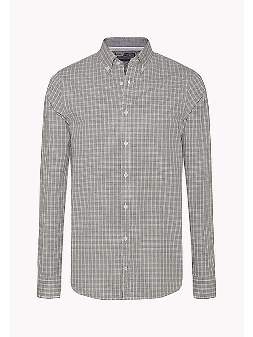 TOMMY HILFIGER Slim Fit Check Shirt - CLOUD HTR / MULTI - TOMMY HILFIGER Shirts - detail image 1
