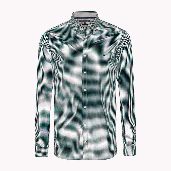 TOMMY HILFIGER Slim Fit Hemd mit Gingham-Karo - ESTATE BLUE / CLOUD HTR - TOMMY HILFIGER Kleidung - main image 1