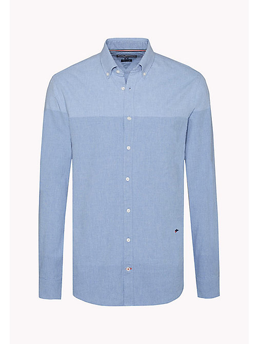 TOMMY HILFIGER Colour-Blocked Shirt - SHIRT BLUE - TOMMY HILFIGER Shirts - detail image 1
