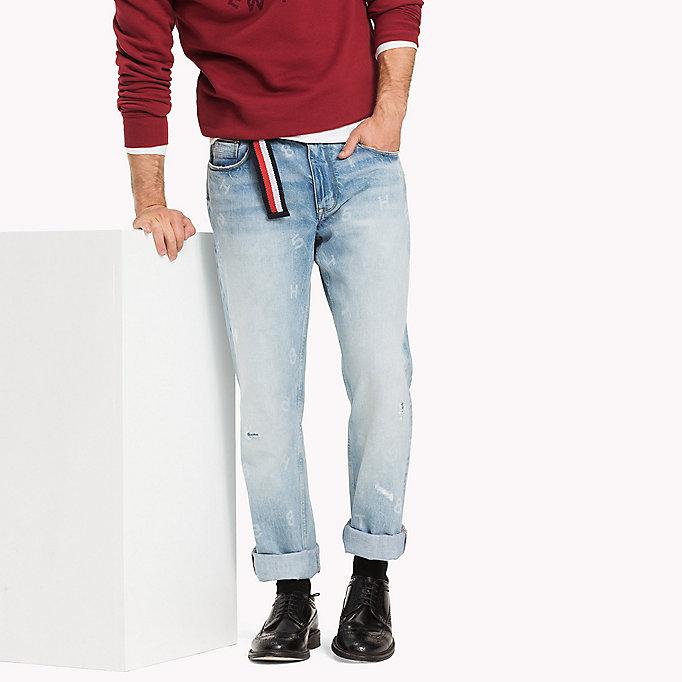 regular fit jeans tommy hilfiger official website. Black Bedroom Furniture Sets. Home Design Ideas