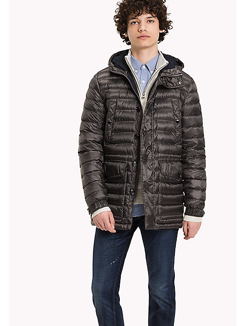 TOMMY HILFIGER Quilted Down Parka - MAGNET - TOMMY HILFIGER Coats & Jackets - main image