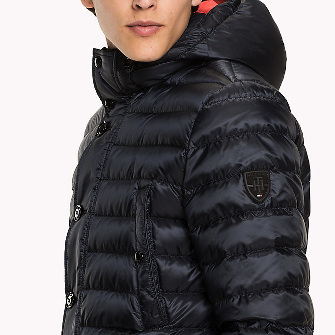 TOMMY HILFIGER Quilted Down Parka - MAGNET - TOMMY HILFIGER Clothing - detail image 3