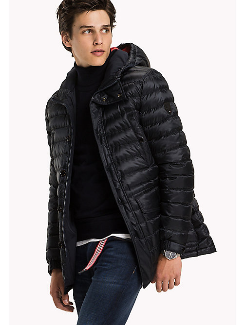 TOMMY HILFIGER Quilted Down Parka - SKY CAPTAIN - TOMMY HILFIGER Coats & Jackets - main image