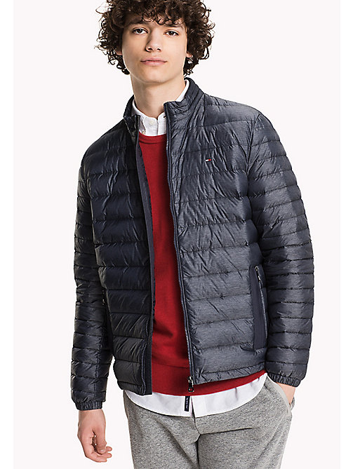 TOMMY HILFIGER Heathered Down Bomber - SKY CAPTAIN HEATHER - TOMMY HILFIGER Coats & Jackets - main image