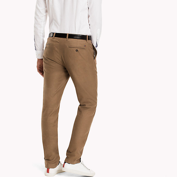TOMMY HILFIGER Straight fit chino - PARISIAN NIGHT - TOMMY HILFIGER Kleding - detail image 1