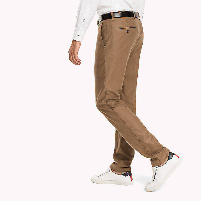 TOMMY HILFIGER Straight fit chino - PARISIAN NIGHT - TOMMY HILFIGER Kleding - detail image 2