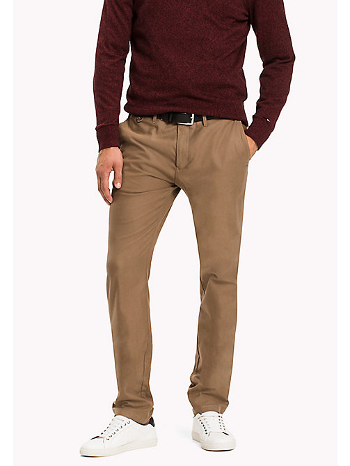 TOMMY HILFIGER Straight Fit Chino - WALNUT - TOMMY HILFIGER Hosen - main image