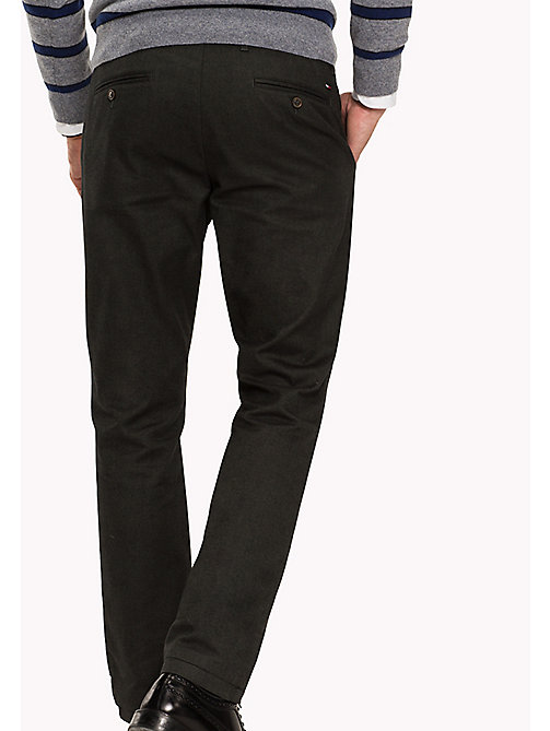 TOMMY HILFIGER Straight Fit Chino - DARKEST SPRUCE - TOMMY HILFIGER Hosen - main image 1