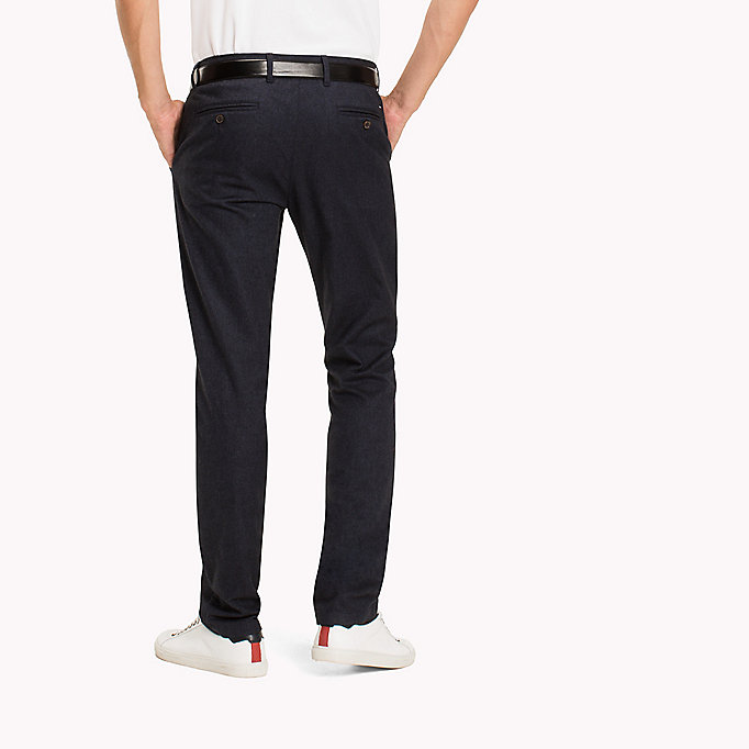 TOMMY HILFIGER Straight fit chino - TAWNY PORT - TOMMY HILFIGER Kleding - detail image 1