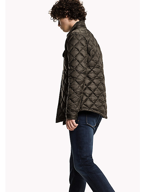 TOMMY HILFIGER Quilted Down Jacket - BLACK INK - TOMMY HILFIGER Clothing - detail image 1