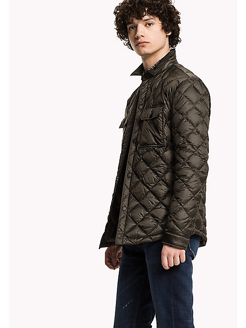TOMMY HILFIGER Quilted Down Jacket - BLACK INK - TOMMY HILFIGER Clothing - main image