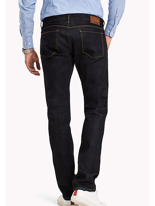TOMMY HILFIGER Selvedge Straight Fit Jeans - RINSE SELVEDGE -  Jeans - detail image 1
