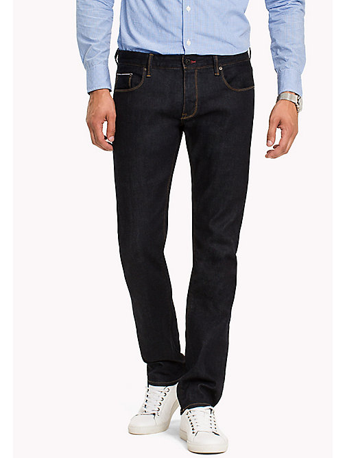 TOMMY HILFIGER Selvedge Straight Fit Jeans - RINSE SELVEDGE -  Jeans - main image