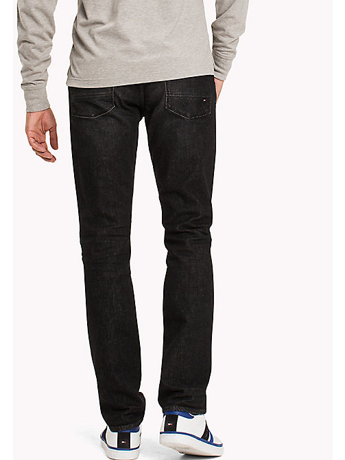 TOMMY HILFIGER Straight Fit Jeans - AMMON BLACK - TOMMY HILFIGER Jeans - detail image 1