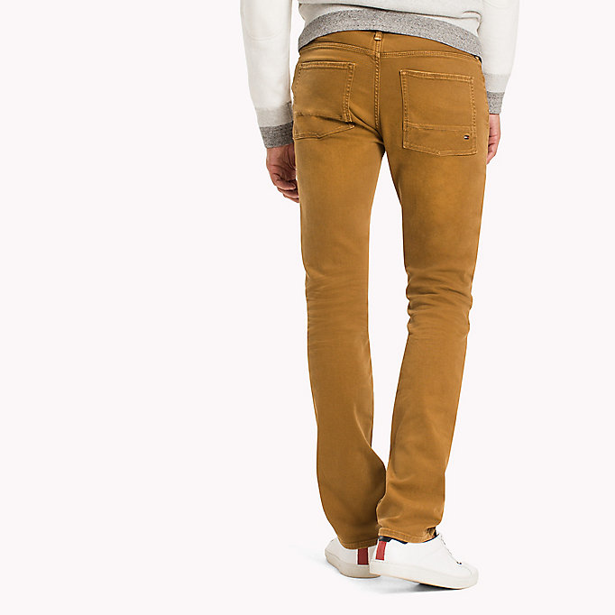 TOMMY HILFIGER Slim Fit Jeans - DUSTY ROSE - TOMMY HILFIGER Clothing - detail image 1