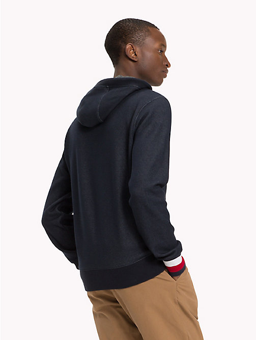 TOMMY HILFIGER Zip-Thru Hoodie - SKY CAPTAIN - TOMMY HILFIGER NEW IN - detail image 1