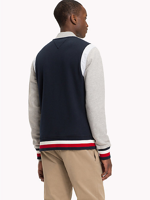 TOMMY HILFIGER Iconic Tommy Bomber - SKY CAPTAIN / CLOUD HTR - TOMMY HILFIGER Clothing - detail image 1