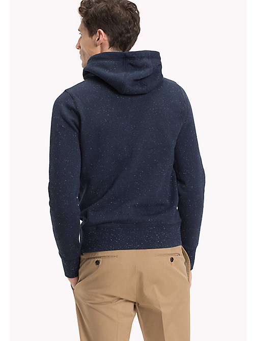 TOMMY HILFIGER Logo Print Hoodie - SKY CAPTAIN - TOMMY HILFIGER Sweatshirts & Knitwear - detail image 1