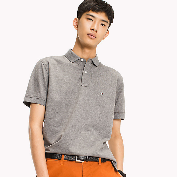 TOMMY HILFIGER Regular Fit Polo - REGATTA - TOMMY HILFIGER Men - main image