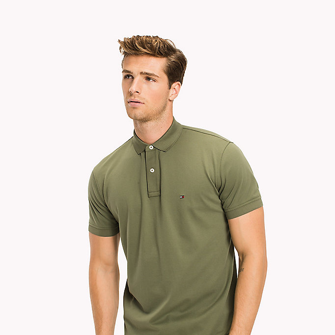 TOMMY HILFIGER Regular Fit Polo - MAGNET - TOMMY HILFIGER Men - detail image 2