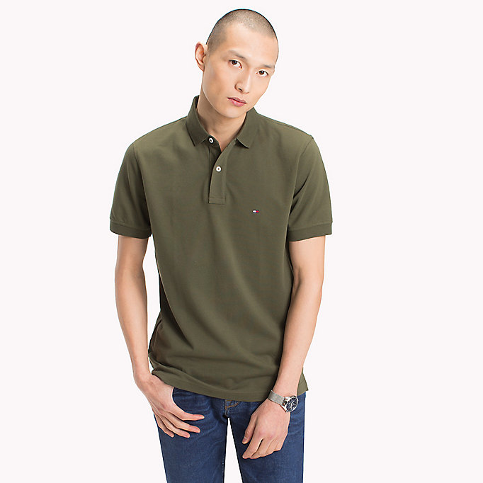 TOMMY HILFIGER Regular Fit Polo - FANFARE - TOMMY HILFIGER Men - main image