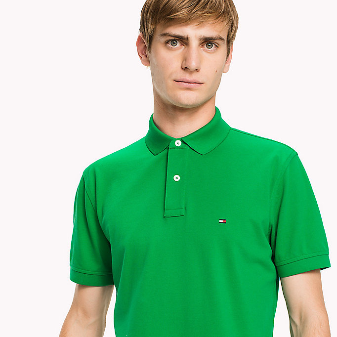 TOMMY HILFIGER Regular Fit Polo - GLEAM - TOMMY HILFIGER Men - detail image 2