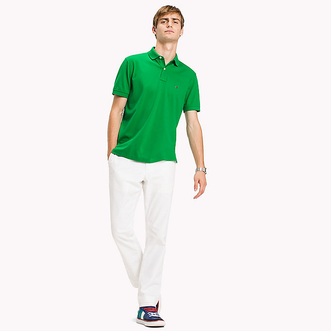 TOMMY HILFIGER Regular Fit Polo - GLEAM - TOMMY HILFIGER Men - main image