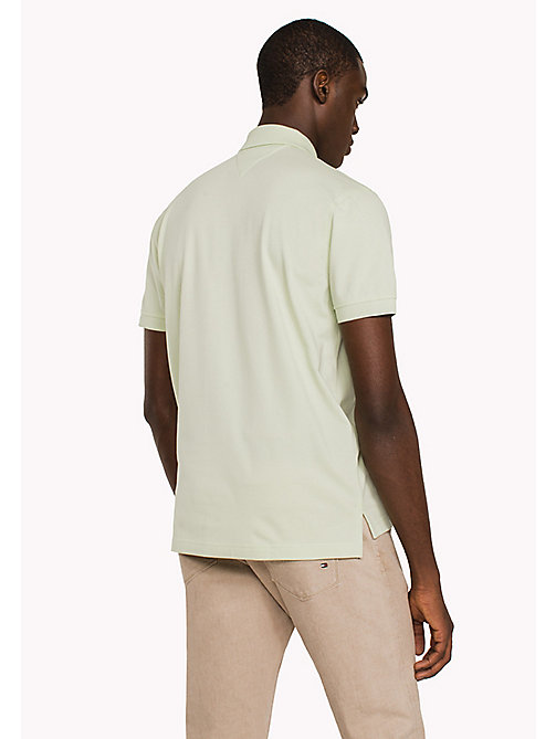 TOMMY HILFIGER Regular Fit Polo - GLEAM - TOMMY HILFIGER Clothing - detail image 1